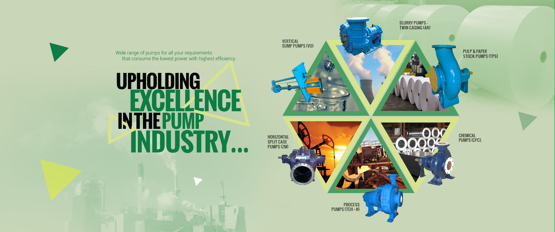 Industrial Pumps Manufacturers - Centrifugal Pump Suppliers